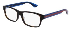 Gucci GG0006OA Tortoise/Blue/Red