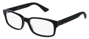 Gucci GG0012O Black with Black Temples