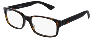 Gucci GG0012O Havana with Black Temples