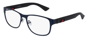 Gucci GG0013O Blue with Black Temples