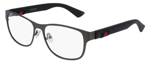 Gucci GG0013O Ruthenium with Black Temples