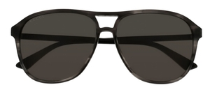 Gucci GG0016S Grey Tortoise with Grey Lenses