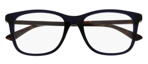 Gucci GG0018O Blue with Havana Temples 003
