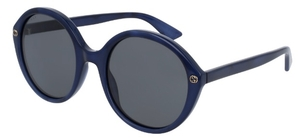 Gucci GG0023S Blue with Grey Lenses