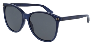 Gucci GG0024S Blue with Grey Lenses