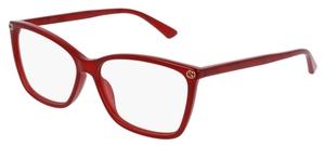 Gucci GG0025O Red