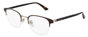 Gucci GG002O Bronze with Havana Temples