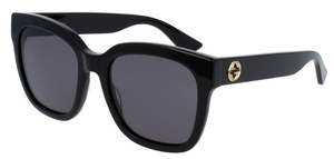 Gucci GG0034S Black with Grey Lenses