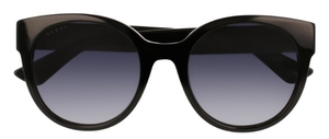 Gucci GG0035S Black with Grey Gradient Lenses