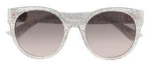 Gucci GG0035S Crystal Sparkle with Brown Gradient Lenses