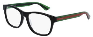 Gucci GG0004OA Black/Green Red