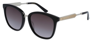 Gucci GG0073S Black with Grey Gradient Lenses