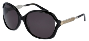 Gucci GG0076S Black with Grey Lenses