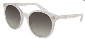 Gucci GG0091S Mother of Pearl with Brown Gradient Lenses