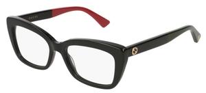 Gucci GG0165O Black/Red