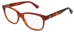 Gucci GG0166O Light Havana 02