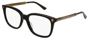 Gucci GG0218O Black/Gold