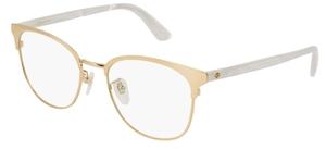 Gucci GG0250OK Gold/White