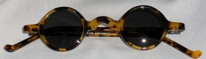 Anglo American Groucho Amber Havana w/ Grey window
