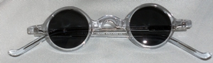 Anglo American Groucho Clear Crystal w/ Grey window