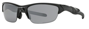 Oakley Half Jacket 2.0 (Asian Fit) OO9153 Polished Black with Polarized Black Iridium