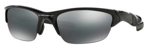 Oakley Half Jacket 2.0 OO9144 01 Polished Black with Black Iridium Lenses