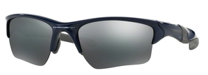 Oakley Half Jacket 2.0 XL OO9154 24 Polished Navy with Black Iridium