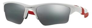 Oakley Half Jacket 2.0 XL OO9154 23 Polished White with Black Iridium Lenses