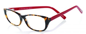 Eyebobs Hanky Panky Tortoise Front with Red Temples