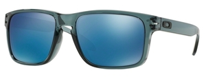 Oakley Holbrook (Asian Fit) OO9244 13 Crystal Black with Ice Iridium Lenses