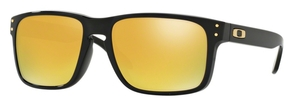 Oakley Holbrook (Asian Fit) OO9244 20 Polished Black with 24K Iridium Lenses