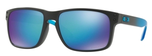 Oakley Holbrook (Asian Fit) OO9244 23 Sapphire Fade with Prizm Sapphire Polarized Lenses