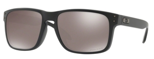Oakley Holbrook (Asian Fit) OO9244 25 Matte Black with Prizm Black Polarized Lenses
