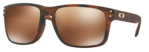 Oakley Holbrook (Asian Fit) OO9244 26 Matte Brown Tortoise with Prizm Tungsten Polarized Lenses