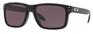 Oakley Holbrook (Asian Fit) OO9244 30 Polished Black with Prizm Grey Lenses