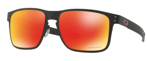 Oakley HOLBROOK METAL OO4123 12 Matte Black with Prizm Ruby