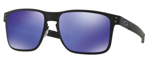 Oakley HOLBROOK METAL OO4123 14 Matte Black with Violet Iridium