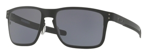 Oakley HOLBROOK METAL OO4123 01 Matte Black with Grey Lenses