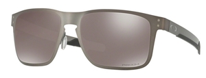 Oakley HOLBROOK METAL OO4123 06 Matte Gunmetal with Polarized Prizm Black Lenses