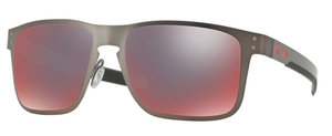 Oakley HOLBROOK METAL OO4123 05 Matte Gunmetal with Polarized Torch Iridium Lenses