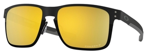 Oakley HOLBROOK METAL OO4123 Polished Black / prizm 24k polarized