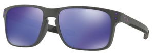 Oakley Holbrook Mix OO9384 02 Steel with Violet Iridium Lenses