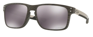 Oakley Holbrook Mix OO9384 04 Woodgrain with Prizm Black Lenses