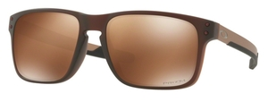 Oakley Holbrook Mix OO9384 08 Matte Rootbeer with Prizm Tungsten Polarized Lenses