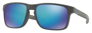 Oakley Holbrook Mix OO9384 10 Steel with Prizm Sapphire Polarized Lenses