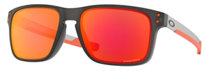 Oakley Holbrook Mix OO9384 Matte Grey Smoke / prizm ruby