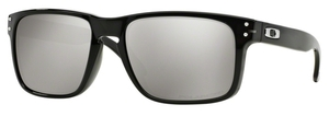 Oakley Holbrook OO9102 Black Ink with Chrome Iridium Polarized Lenses
