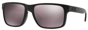Oakley Holbrook OO9102 Matte Black with Polarized Prizm Daily Lenses  90