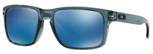 Oakley Holbrook OO9102 Crystal Black with Ice Iridium Lenses