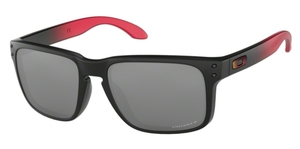 Oakley Holbrook OO9102 D3 Ruby Fade with Prizm Black Polarized